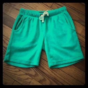 EUC Boys Mini Boden Toweling Shorts Size 7